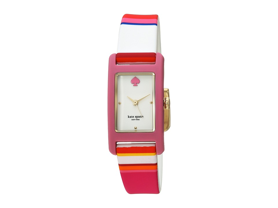 Kate Spade New York - 18 X 25mm Duffy Square Watch - KSW1276 (Multi) Watches