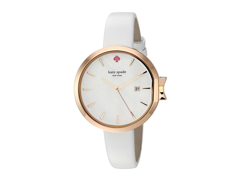 Kate Spade New York - 34mm Park Row Watch - KSW1270 (Rose Gold/White) Watches