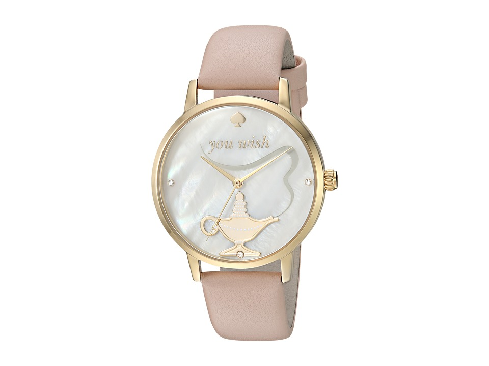 Kate Spade New York - You Wish Metro Watch - KSW1258 (Gold/Beige) Watches