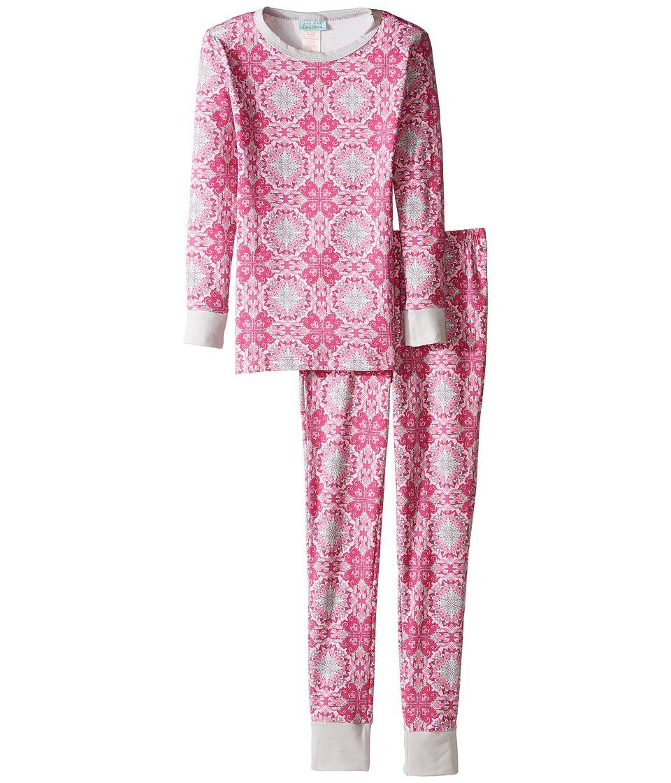 BedHead Kids - Long Sleeve Long Pants Tweens Set (Big Kids) (Paisley Love) Girl's Pajama Sets