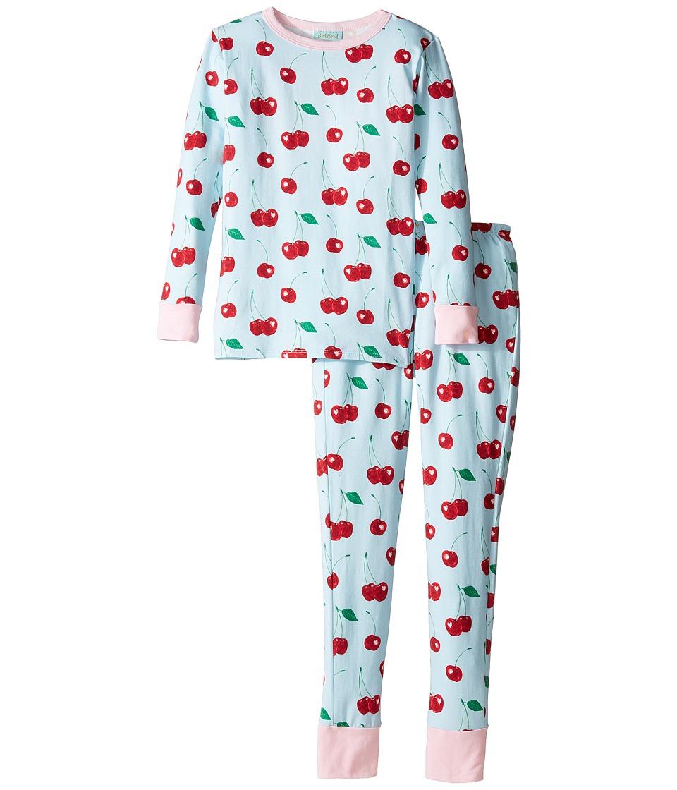 BedHead Kids - Long Sleeve Long Pants Tweens Set (Big Kids) (Cherry Hearts) Girl's Pajama Sets