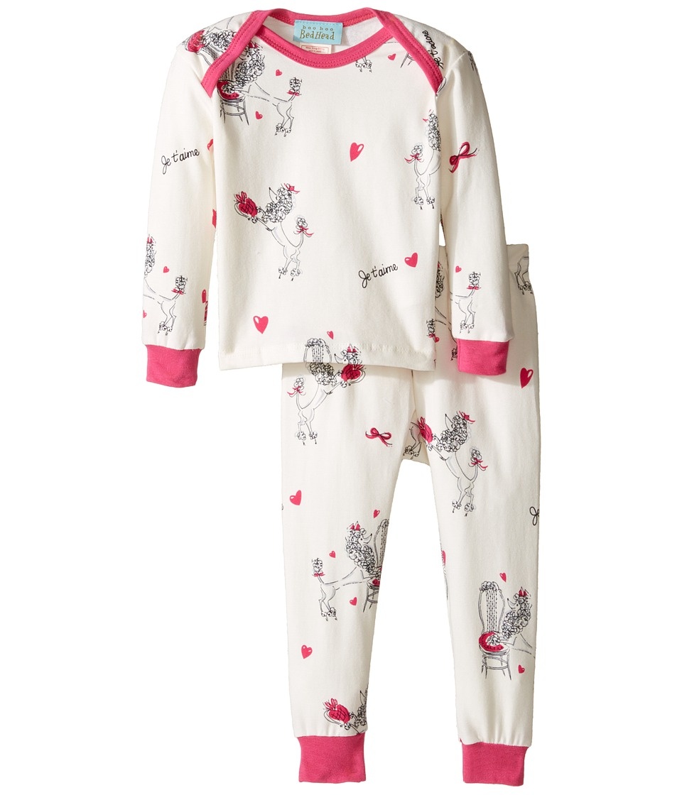BedHead Kids - Long Sleeve Long Pants Set (Infant) (Fifi) Girl's Pajama Sets