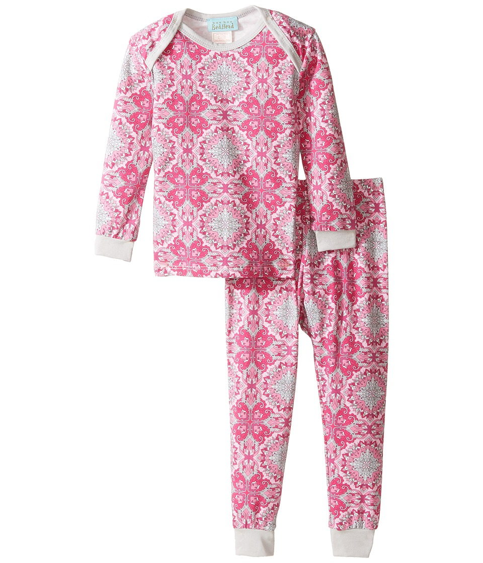 BedHead Kids - Long Sleeve Long Pants Set (Infant) (Paisley Love) Girl's Pajama Sets