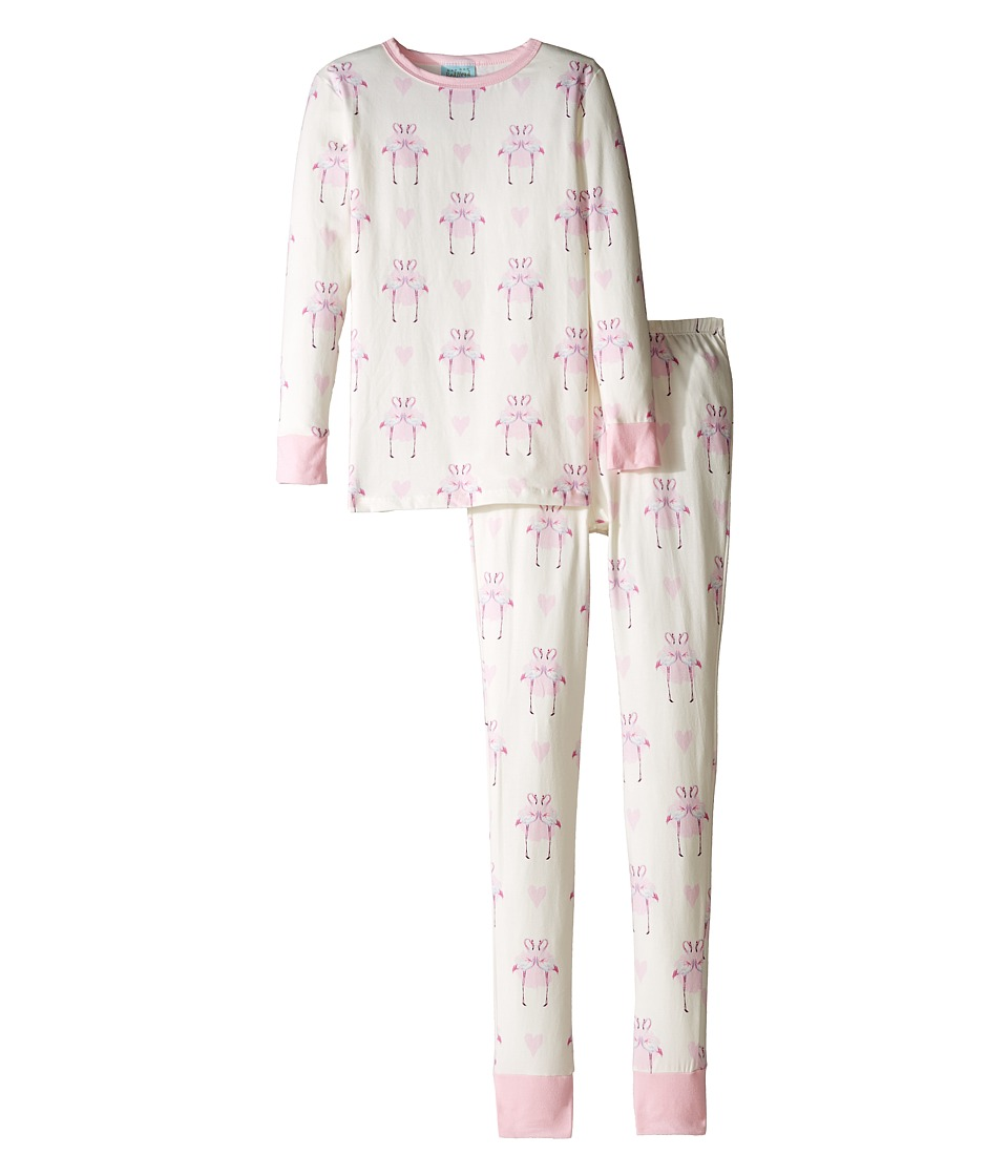 BedHead Kids - Long Sleeve Long Pants Tweens Set (Big Kids) (Flamingo's in Love) Girl's Pajama Sets