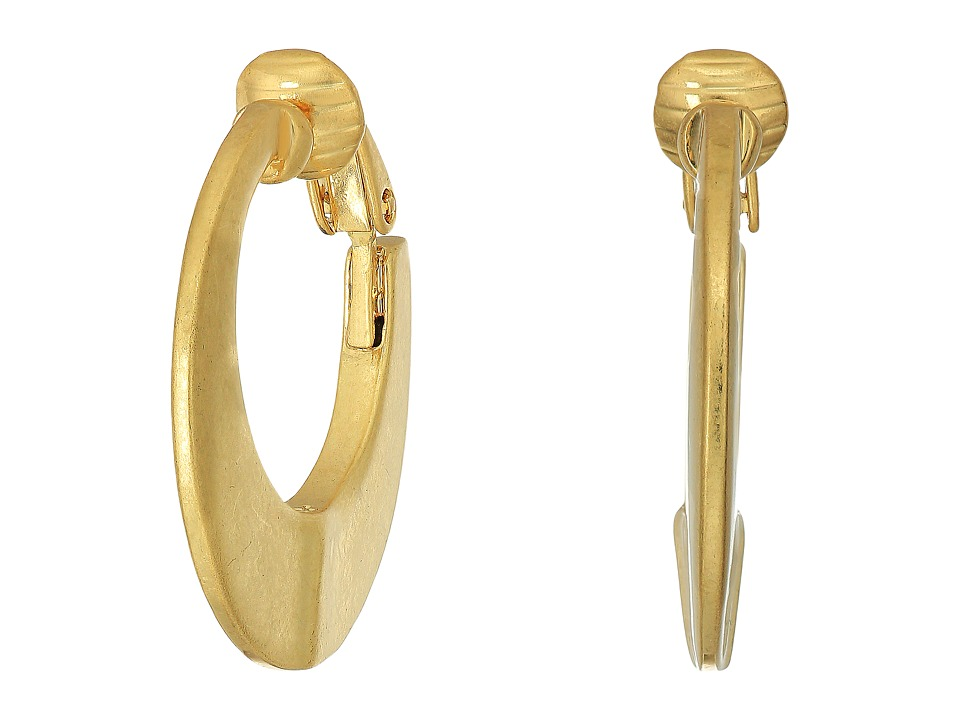 LAUREN Ralph Lauren - Hoop Clip Earrings (Gold) Earring