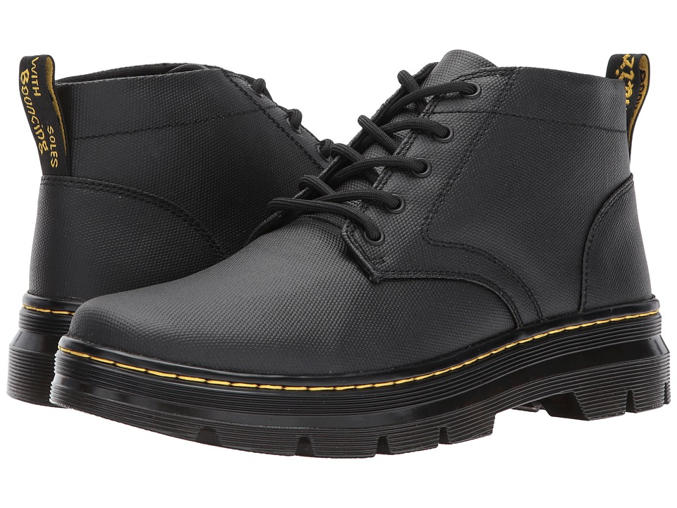 Dr. Martens Bonny 5-Eye Chukka (Black Waxy Coated) Boots
