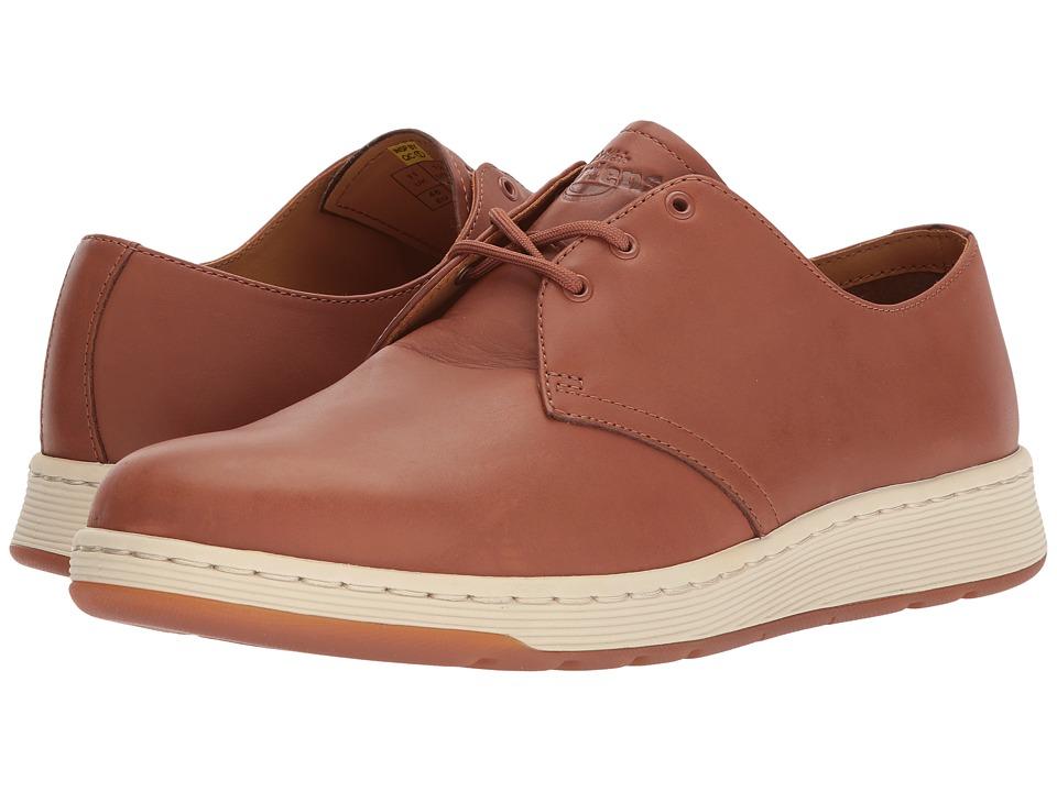 Dr. Martens Cavendish 3-Eye Shoe (Oak Temperley) Lace up casual Shoes