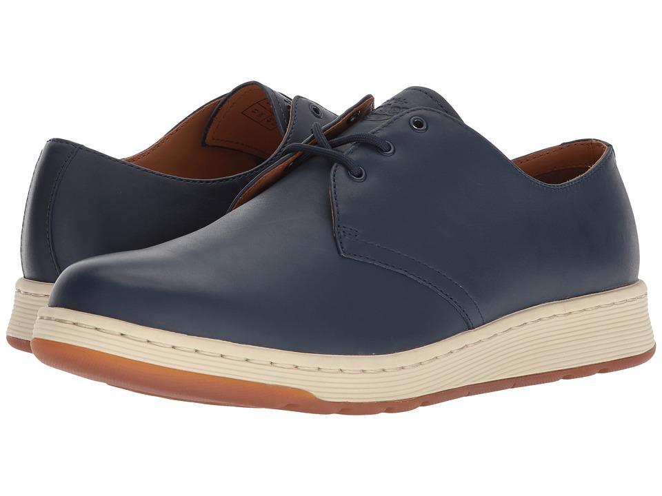 Dr. Martens Cavendish 3-Eye Shoe (Indigo Temperley) Lace up casual Shoes
