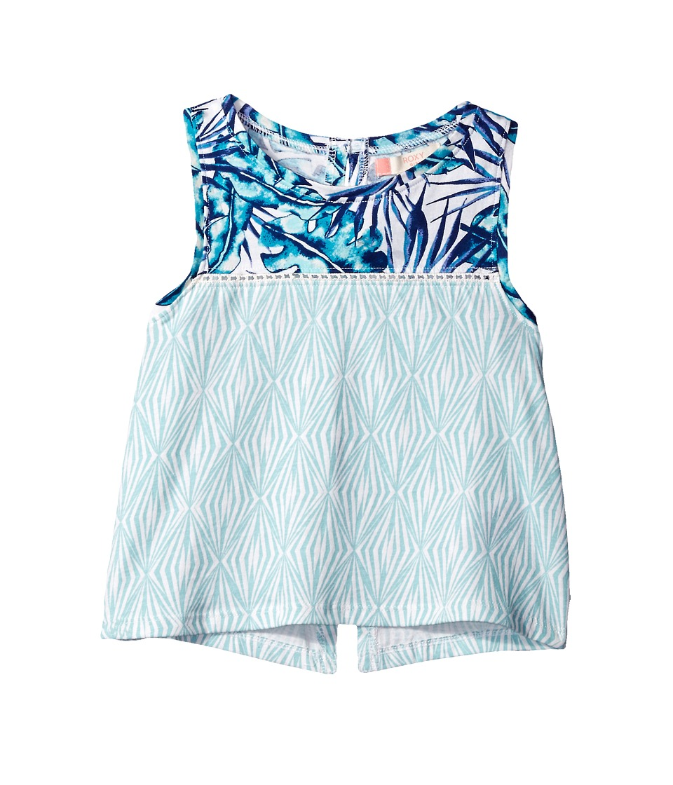 Roxy Kids - Crave Chances Tank Top (Big Kids) (Marshmallow/Tropical Days Geo) Girl's Sleeveless
