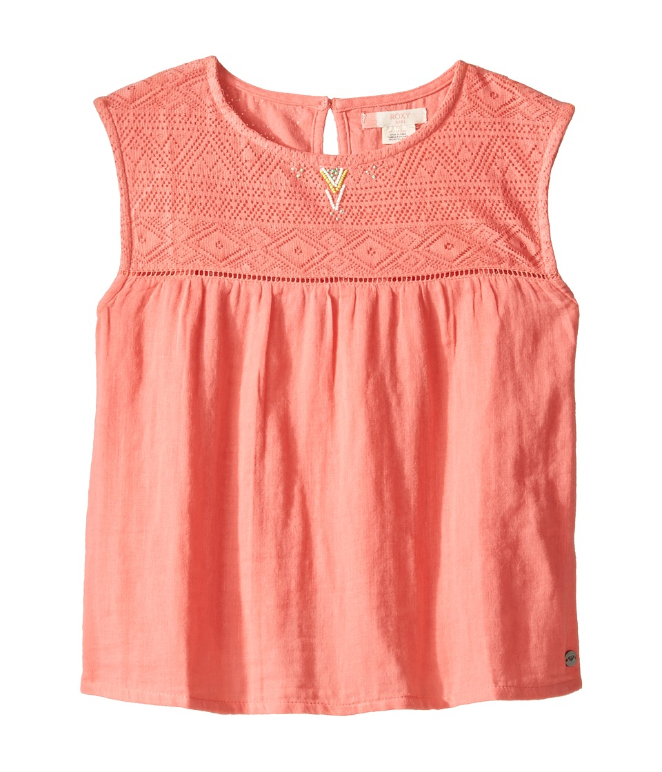Roxy Kids - Cisco Lovers Top (Big Kids) (Sugar Coral) Girl's Clothing
