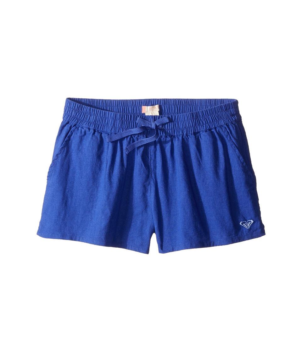 Roxy Kids - Palm Three Shorts (Big Kids) (Royal Blue) Girl's Shorts