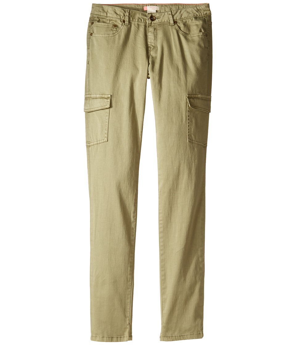 Roxy Kids - Cecilcargo Pants (Big Kids) (Oil Green) Girl's Casual Pants