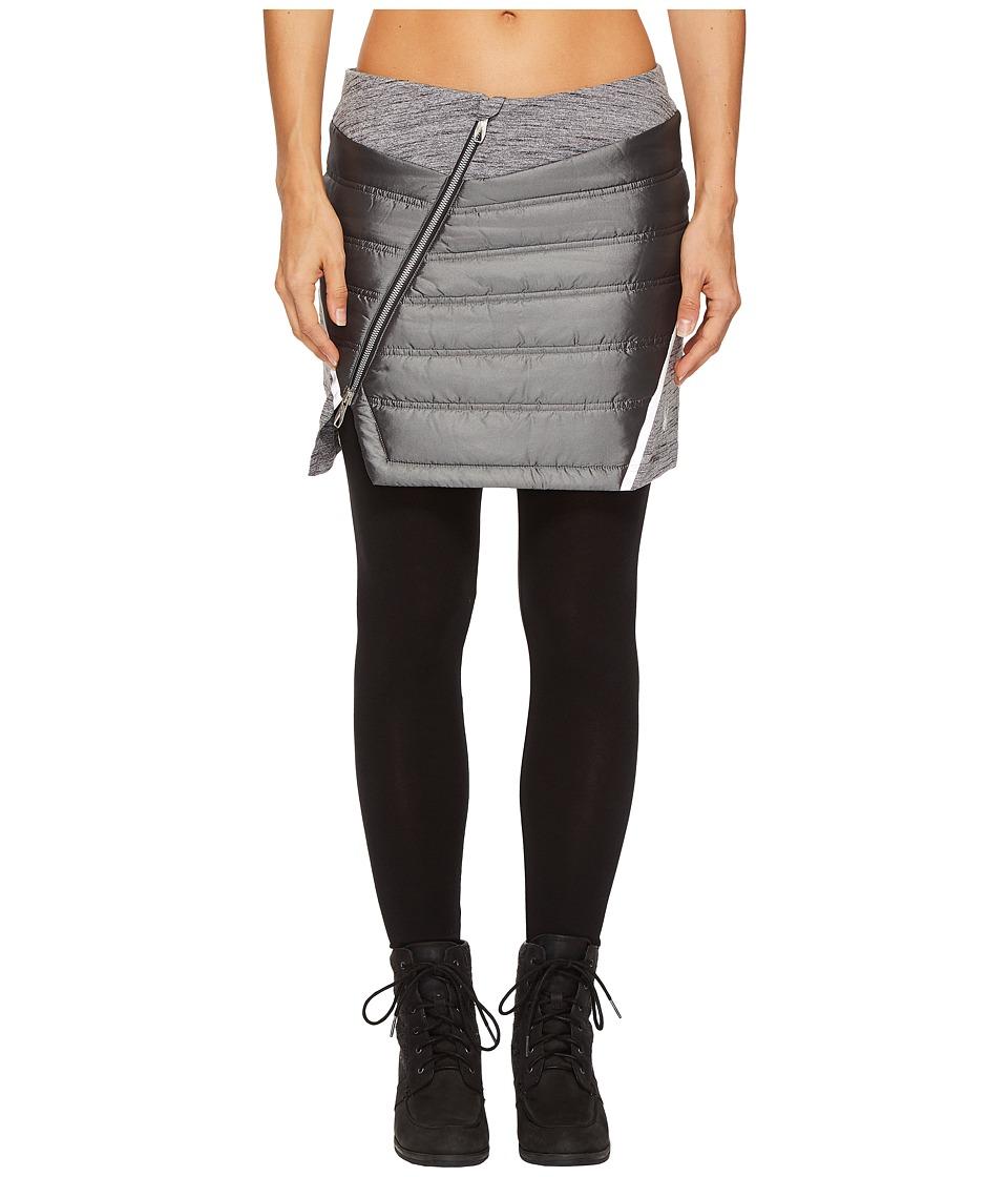 Spyder Solitude Mini Skirt (Black/Black) Women