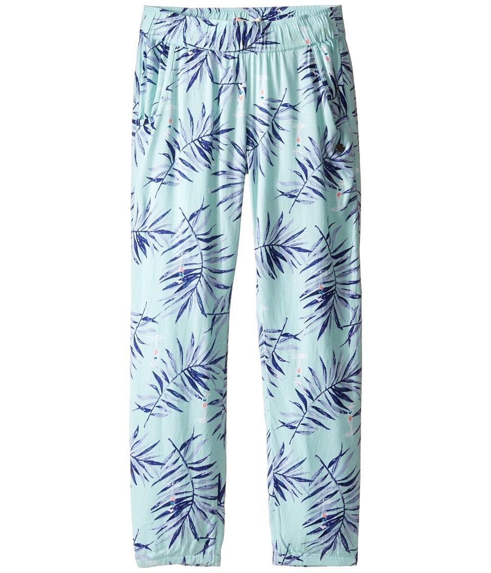 Roxy Kids - Wanna Go Holiday Pants (Big Kids) (Beach Glass/La Croisette) Girl's Casual Pants