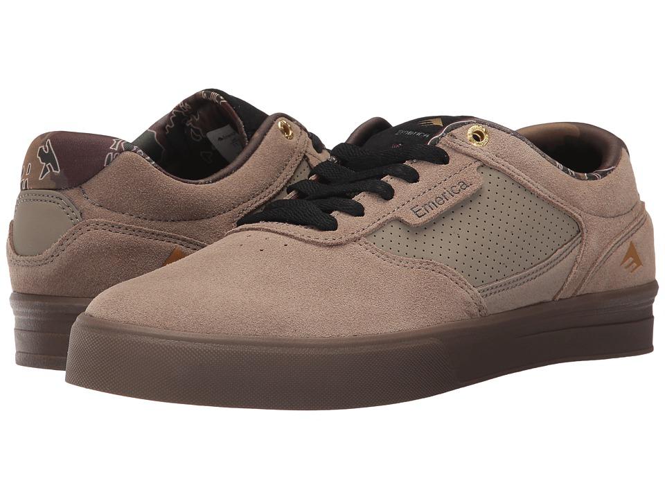 Emerica - Empire G6 (Tan/Gum) Men's Shoes