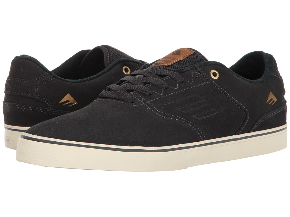 Emerica - The Reynolds Low Vulc (Dark Grey) Men's Skate Shoes