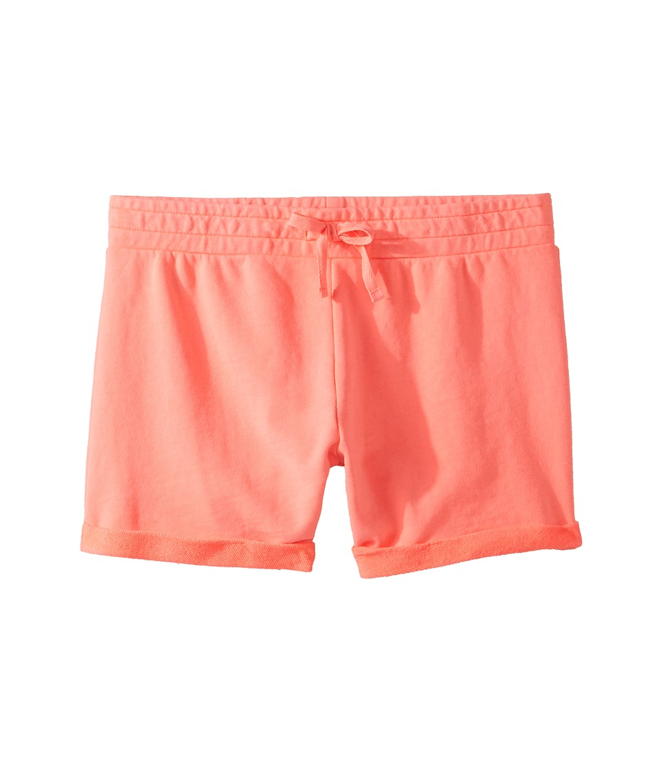 Roxy Kids - Little Inagua Shorts (Big Kids) (Neon Grapefruit) Girl's Shorts