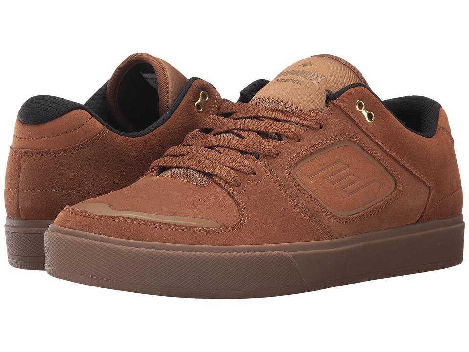 Emerica - Reynolds G6 (Brown/Gum) Men's Skate Shoes