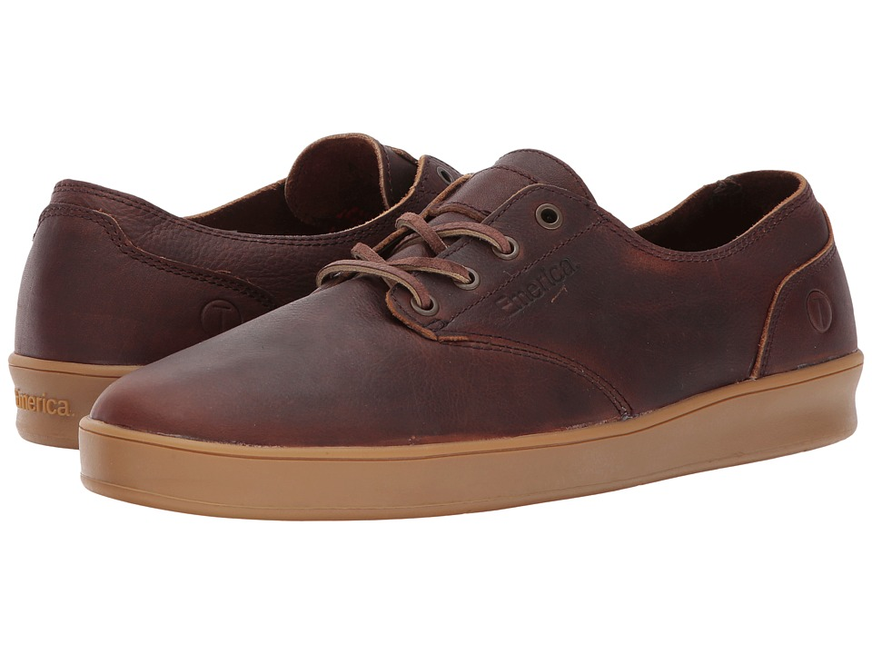 Emerica - RL Reserve X Truman (Brown/Gum/Brown) Men's Skate Shoes