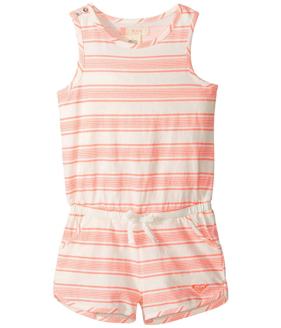 Roxy Kids - All I Give Romper (Toddler/Little Kids/Big Kids) (Somptuous Stripe Combo/Marshmallow) Girl's Jumpsuit & Rompers One Piece