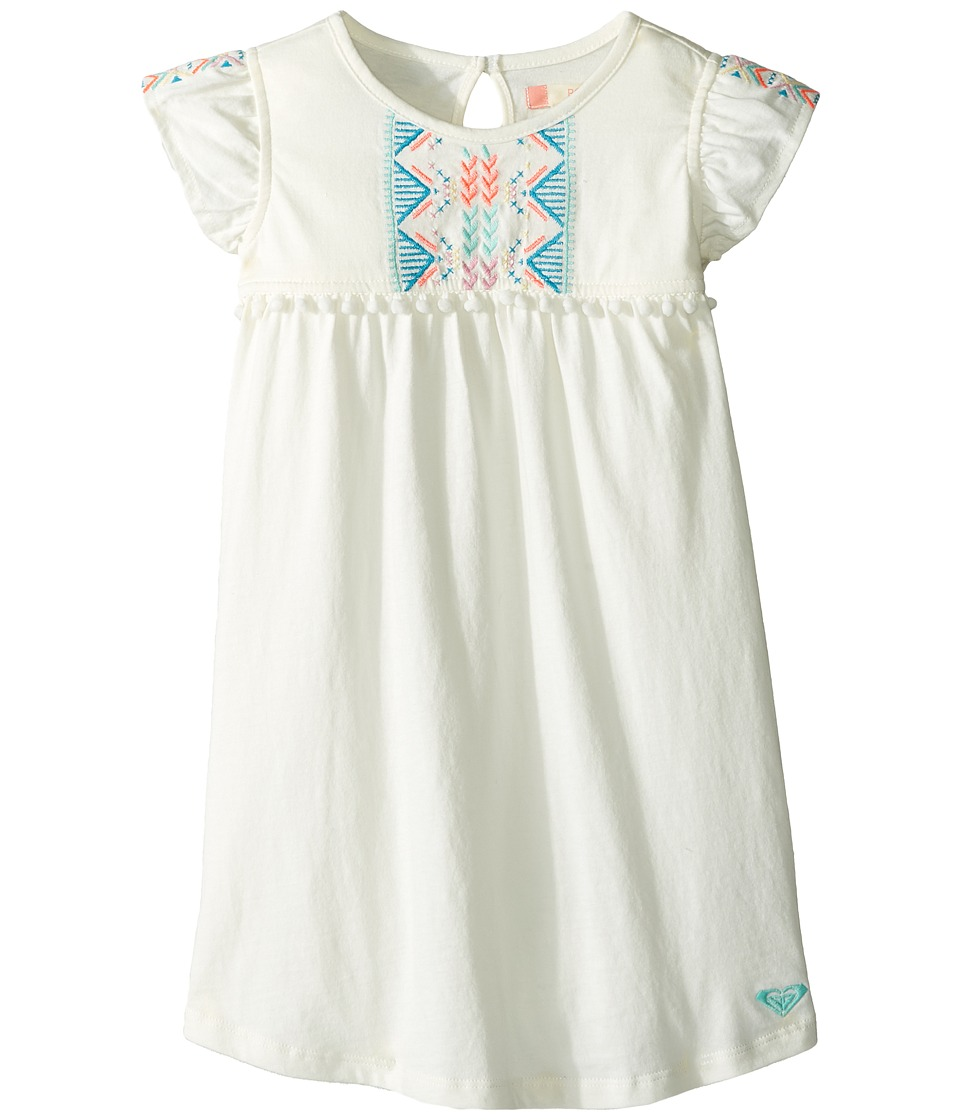 Roxy Kids - Break Out Border Dress (Toddler/Little Kids/Big Kids) (Marshmallow) Girl's Dress