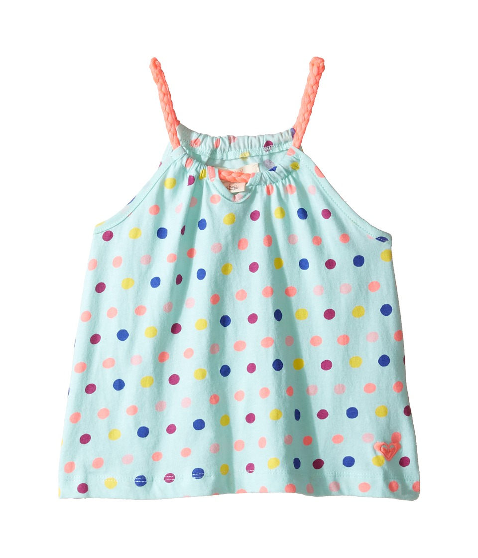 Roxy Kids - Bording For Nowhere Tank Top (Toddler/Little Kids/Big Kids) (Beach Glass/Toudou Dots) Girl's Sleeveless