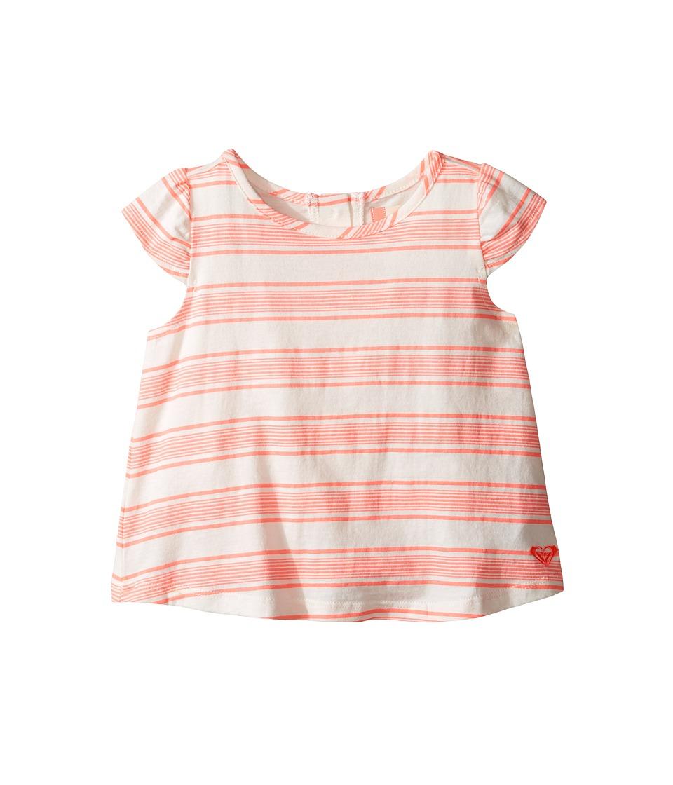 Roxy Kids - Pain Feign Tee (Toddler/Little Kids/Big Kids) (Somptuous Stripe Combo/Marshmallow) Girl's Clothing