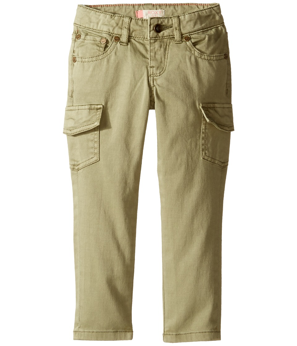 Roxy Kids - TW Cecilcargo Pants (Toddler/Little Kids/Big Kids) (Oil Green) Girl's Casual Pants
