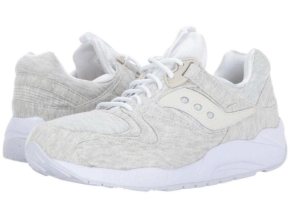 Saucony Originals - Grid 9000 -HT Jersey (White) Men's Classic Shoes
