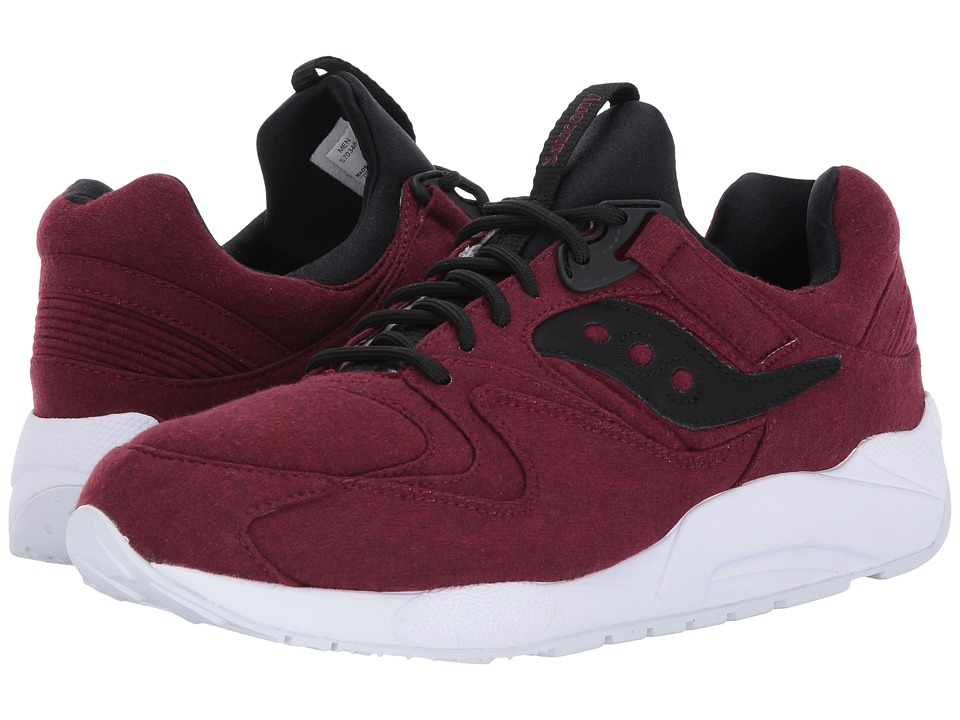 Saucony Originals - Grid 9000 -HT Jersey (Maroon) Men's Classic Shoes