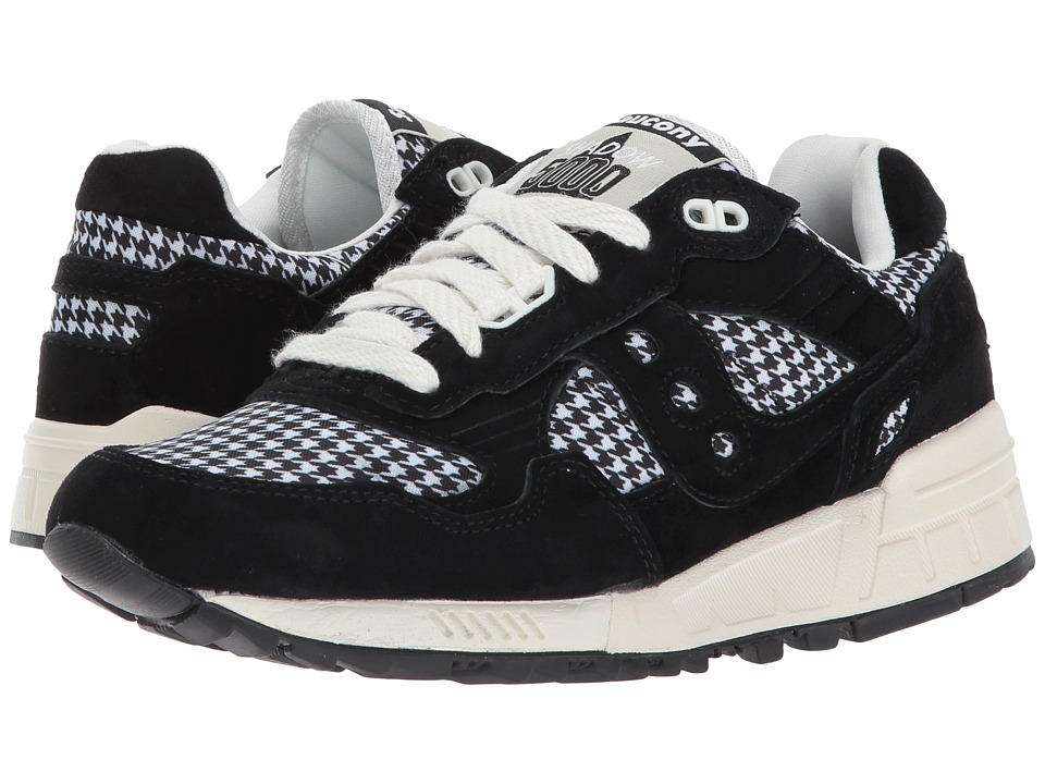 Saucony Originals - Shadow 5000 HT Houndstooth (Black/White) Women's Classic Shoes