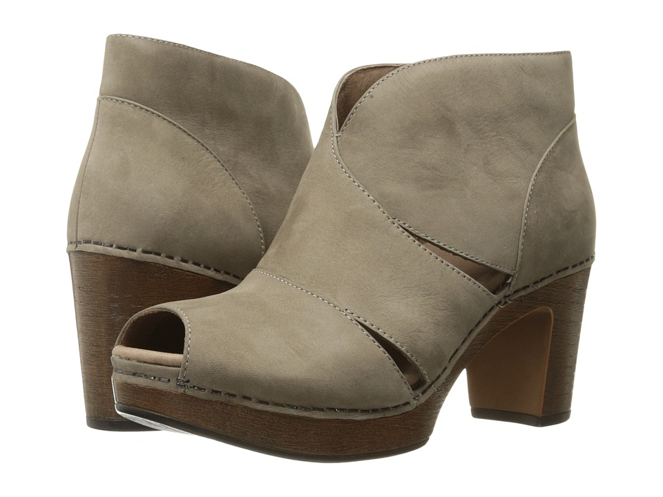Dansko Delphina (Taupe Milled Nubuck) High Heels