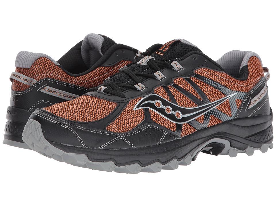 Saucony - Excursion TR11 (Orange/Black) Men's Running Shoes