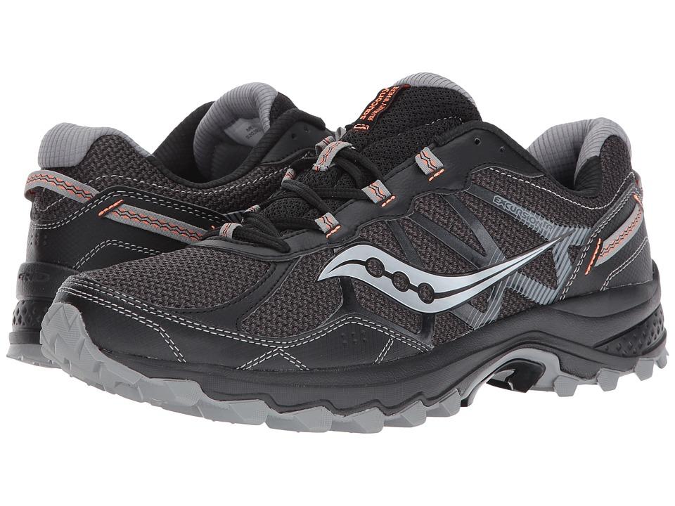 Saucony - Excursion TR11 (Black/Orange) Men's Running Shoes