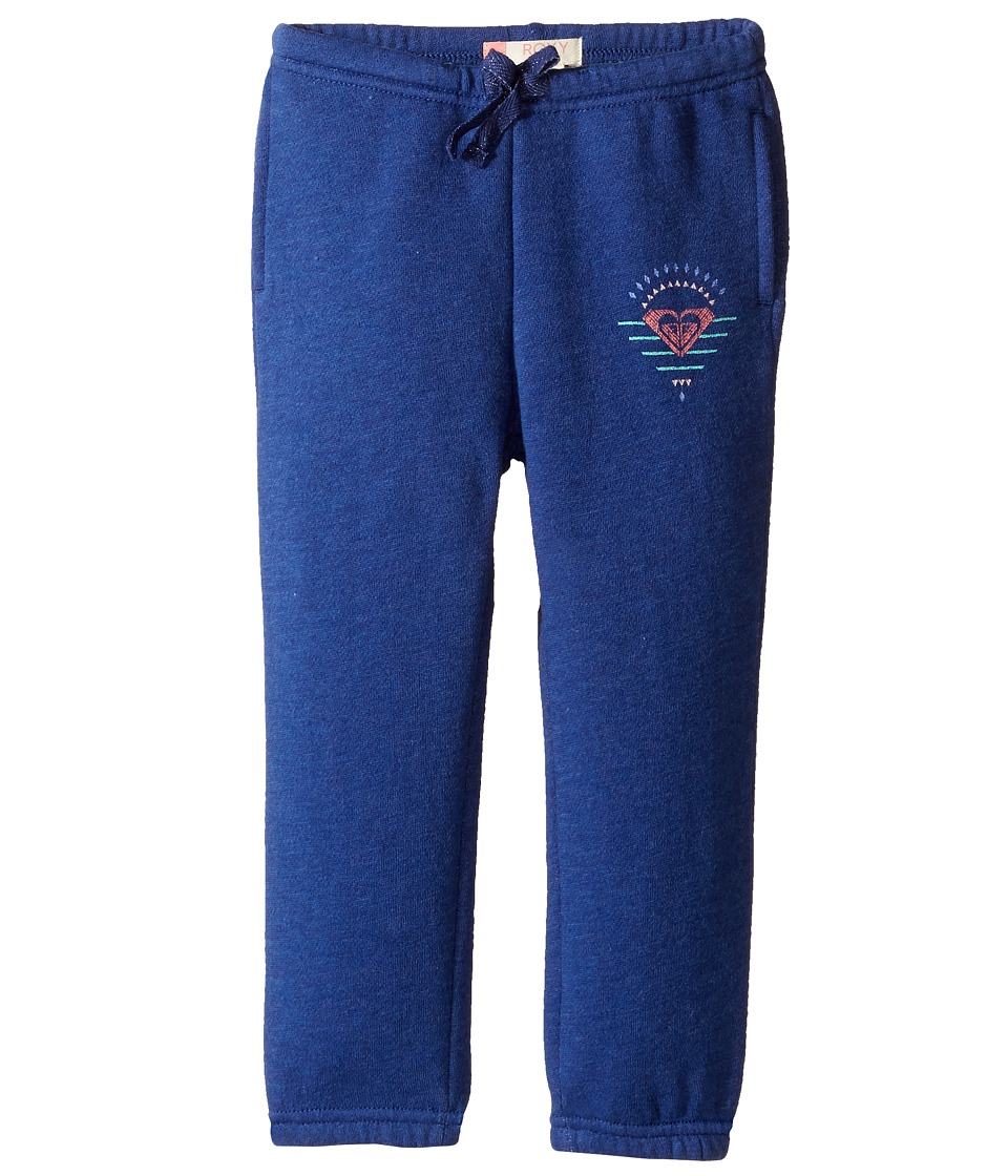 Roxy Kids - Salvation Mountains A Pants (Toddler/Little Kids/Big Kids) (Blue Depths Heather) Girl's Casual Pants