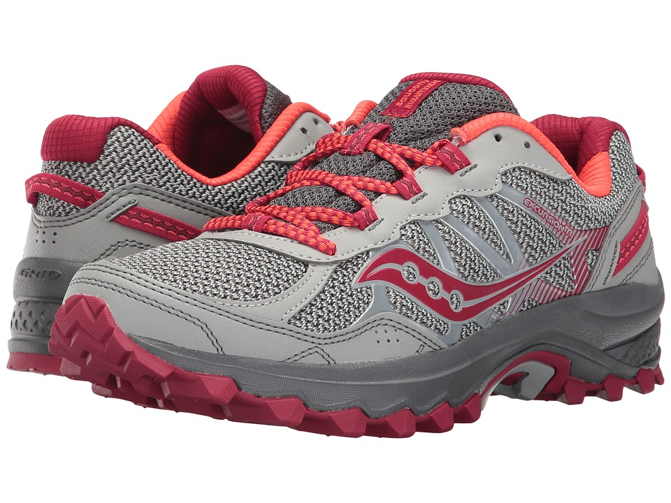 Saucony - Excursion TR11 (Grey/Pink) Women's Running Shoes
