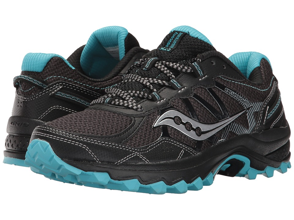 Saucony Excursion TR11 (Black/Blue) Women