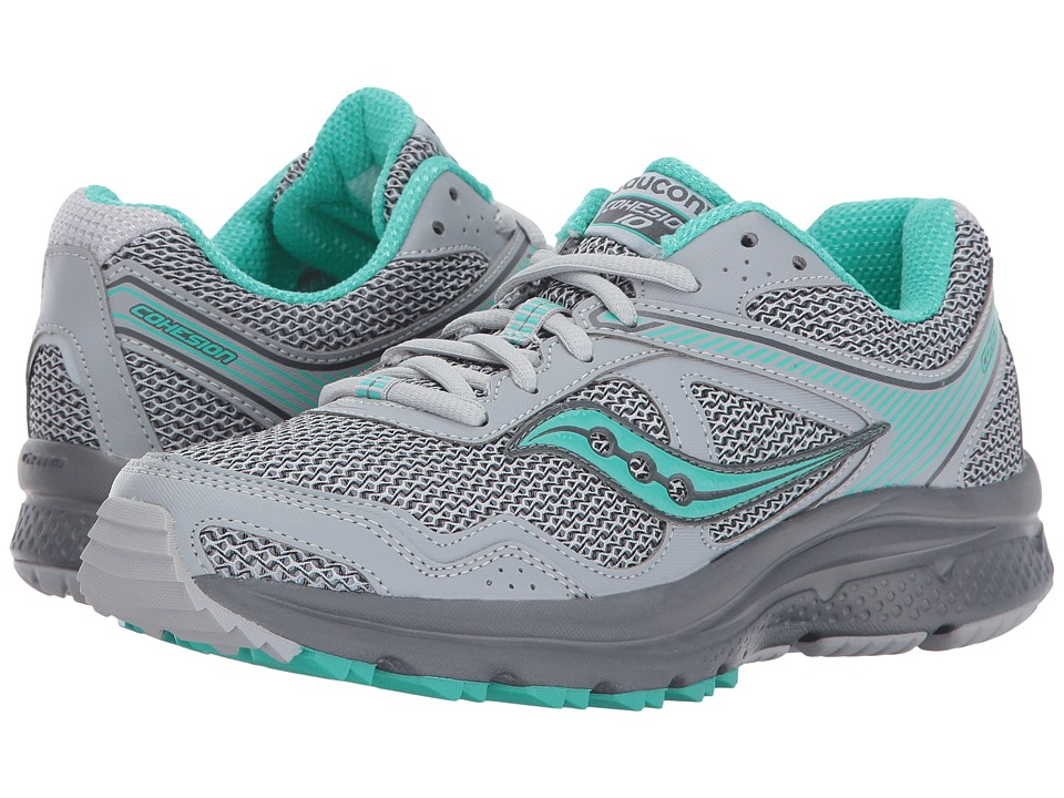Saucony - Cohesion TR10 (Grey/Mint) Women's Shoes