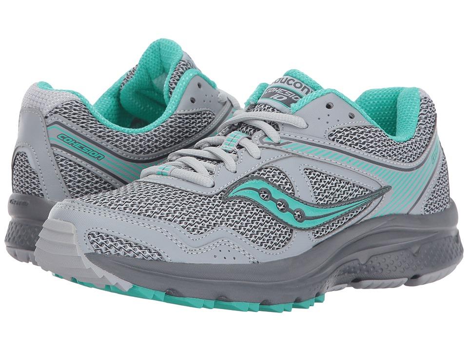 Saucony - Cohesion TR10 (Grey/Mint) Women's Shoes