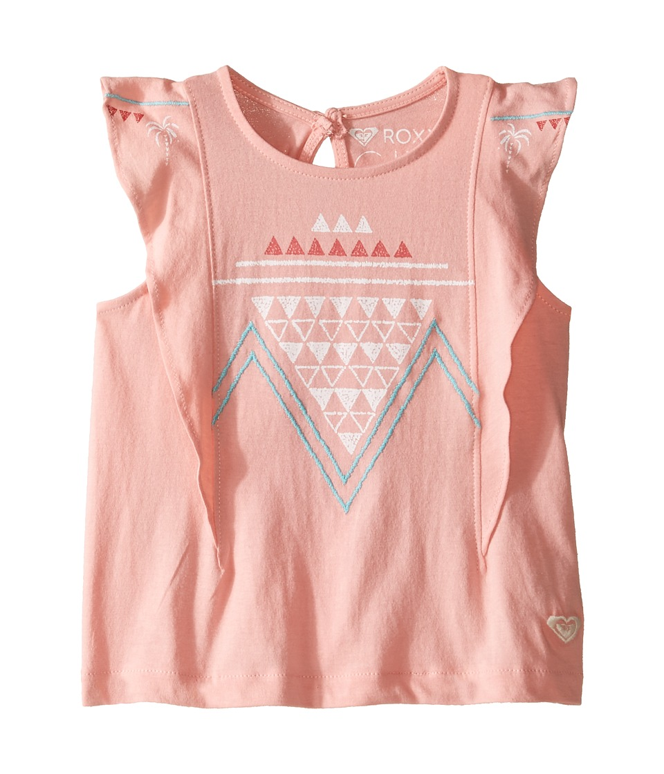 Roxy Kids - Toothpaste Kisses Zigzag Tank Top (Toddler/Little Kids/Big Kids) (Candlelight Peach) Girl's Sleeveless