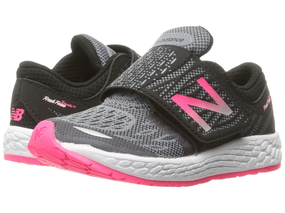 New Balance Kids - Fresh Foam Zante v3 (Infant/Toddler) (Black/Pink) Girls Shoes