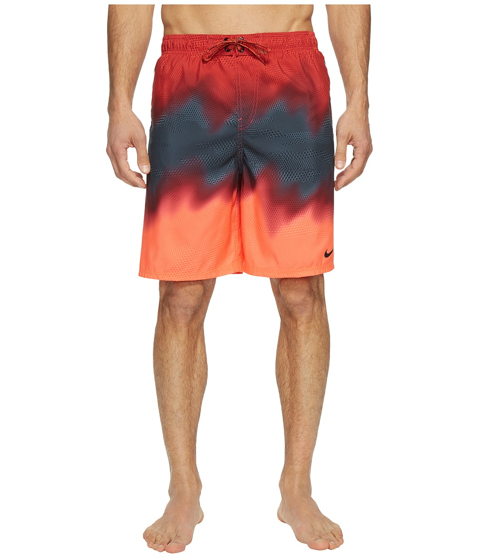 Nike Liquid Haze 9 Volley Shorts (Gym Red) Men