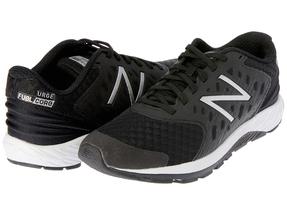 New Balance Kids Vazee Urge (Little Kid/Big Kid) (Black/White) Boys Shoes