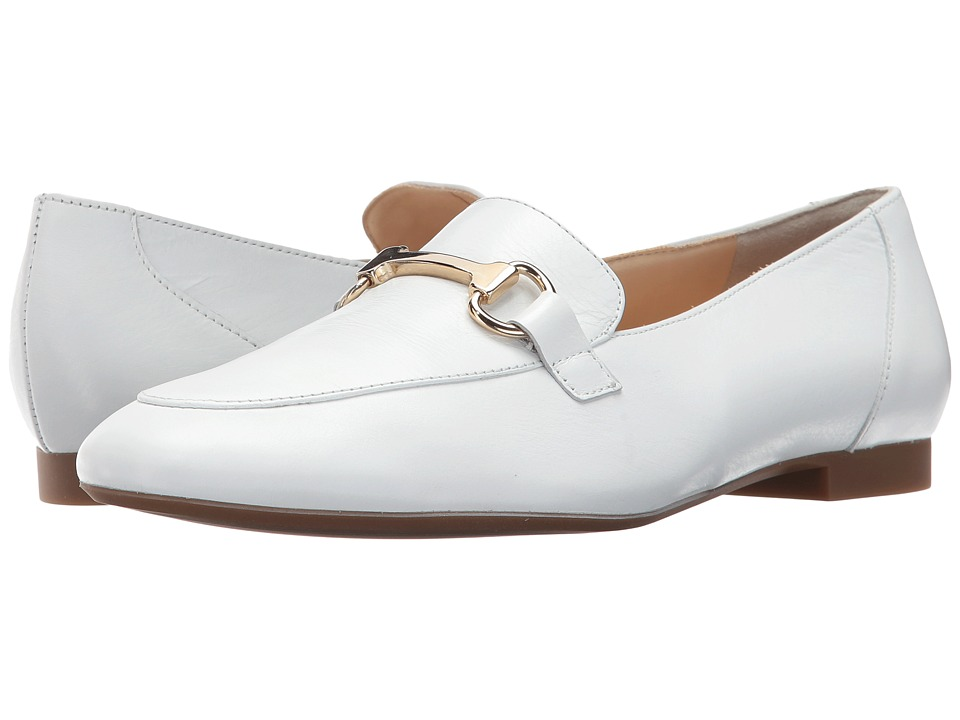 Paul Green - Oakland (Soft White Nappa) Women's Slip on Shoes