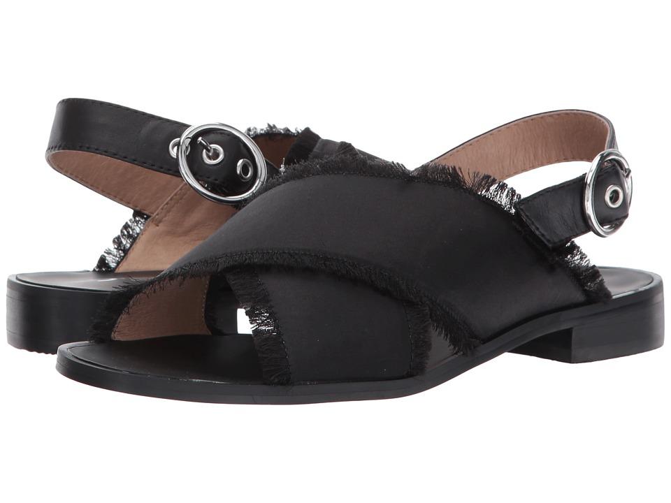 Shellys London Endy Crossband Sandal (Black) Women