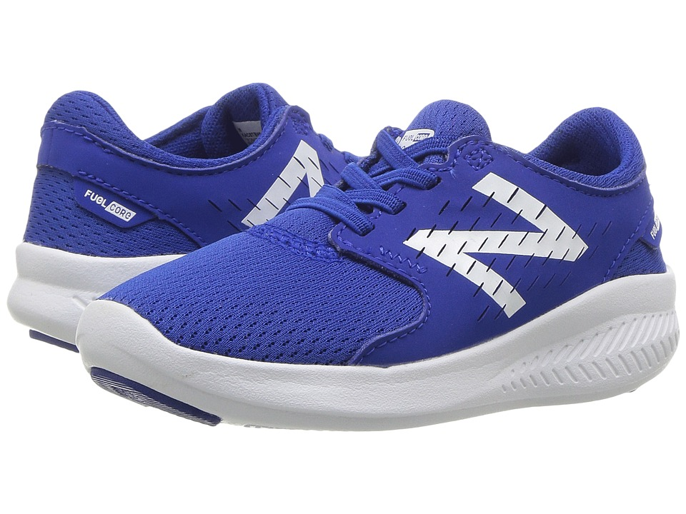 New Balance Kids FuelCore Coast v3 (Infant/Toddler) (Blue/White) Boys Shoes