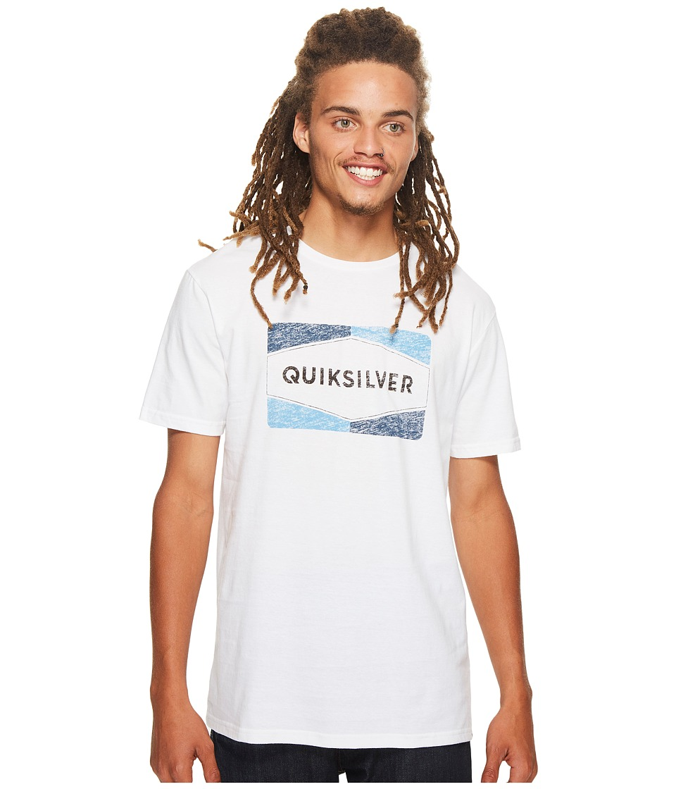Quiksilver - Chappy Tee (White) Men's T Shirt