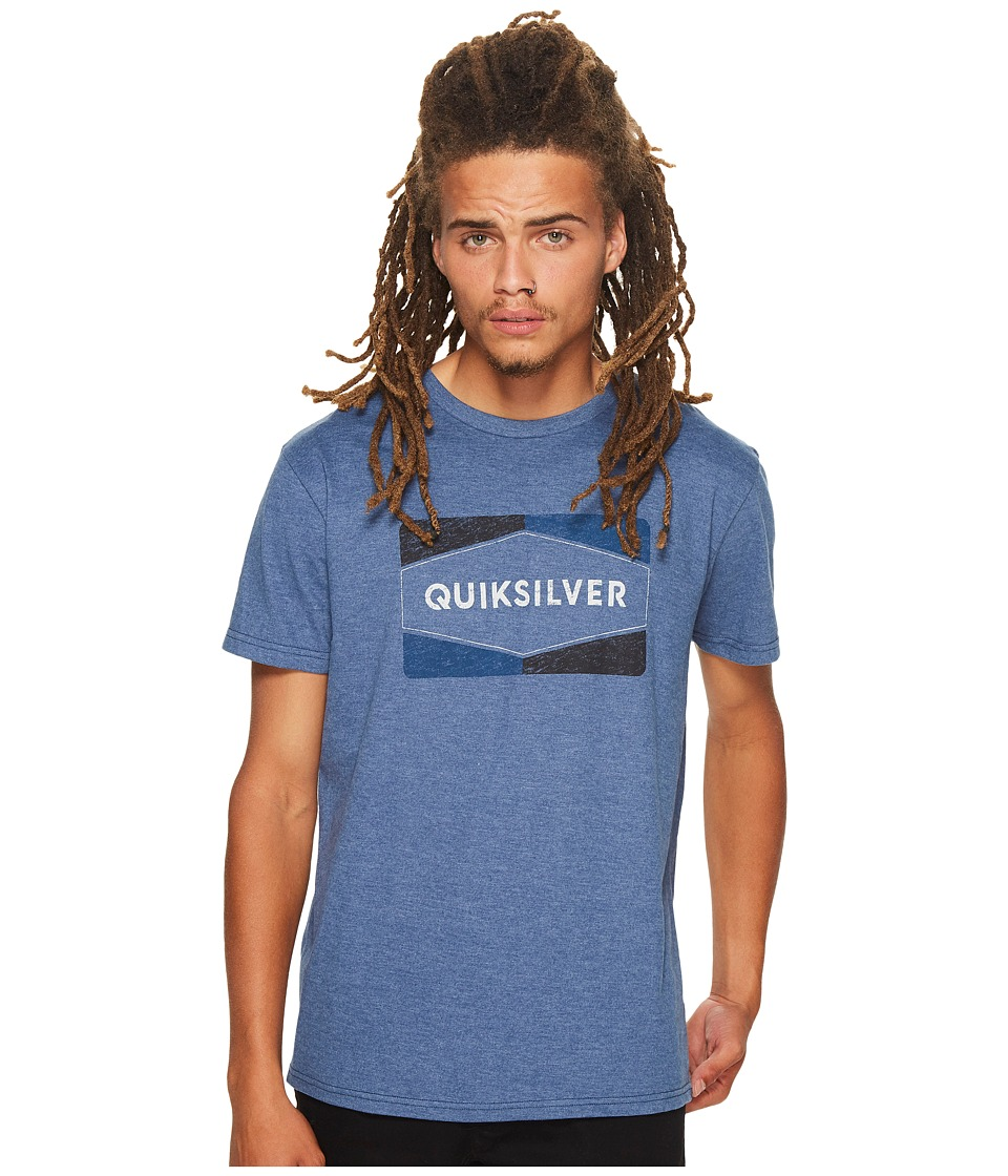 Quiksilver - Chappy Tee (Dark Denim Heather) Men's T Shirt