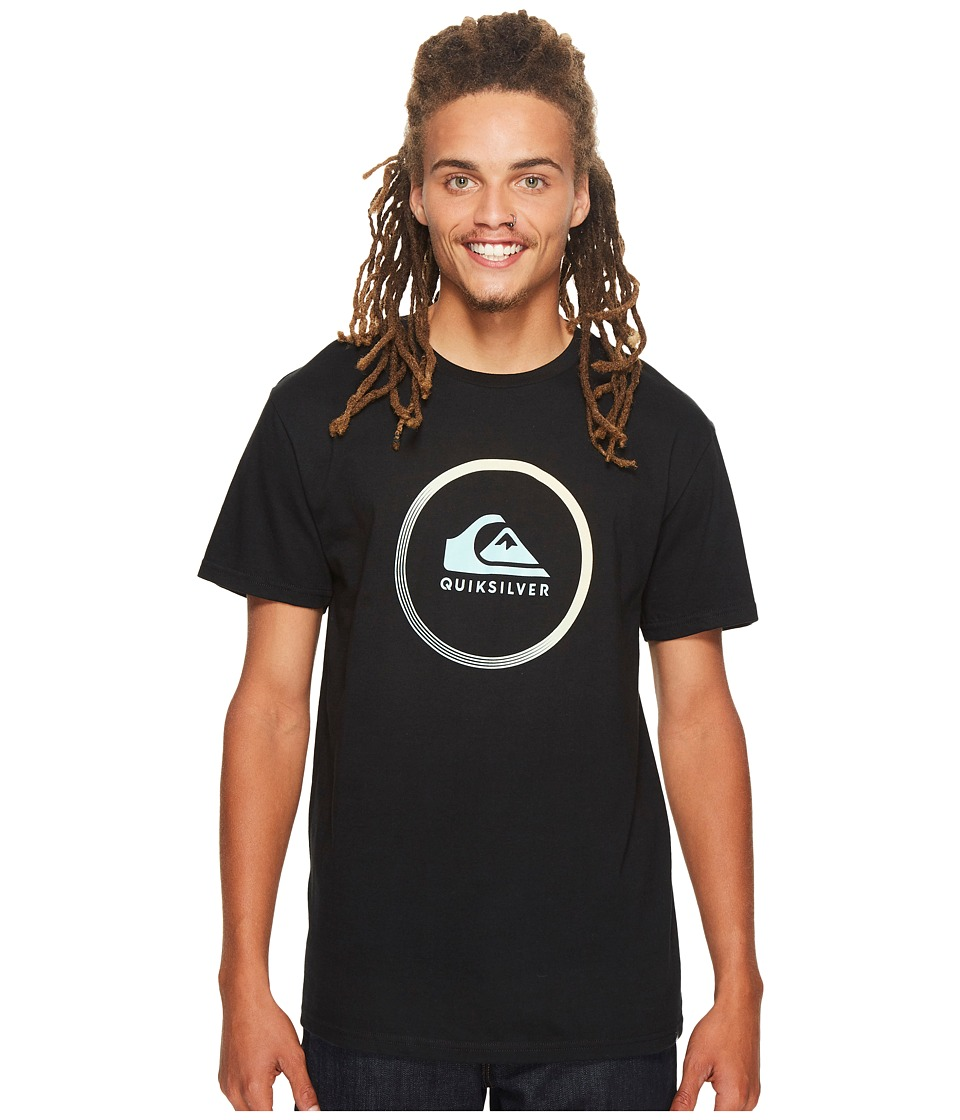 Quiksilver - Active Logo Tee (Black) Men's T Shirt