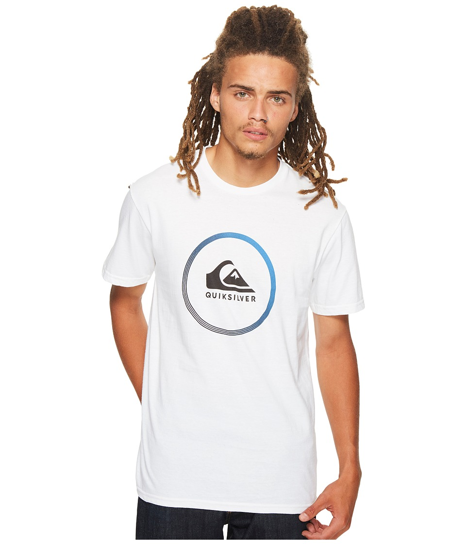 Quiksilver - Active Logo Tee (White) Men's T Shirt